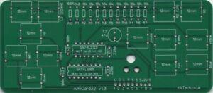 KMTech AmiCard32 Minimalist CD32 Controller Commodore Amiga Retro