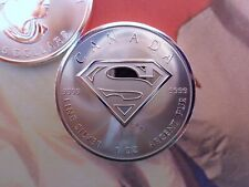 2016 Canadian SUPERMAN coin BU .9999 fine silver