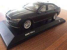BMW 7er Miniatur 1:18 Sophistograu / Scale 1:18