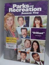 Parks and Recreation : Season 5 (DVD, 2013) Region 1, New & Sealed, Amy Poehler