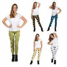 Slim, Skinny, Treggings Cotton Trousers for Women