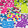 Hot fix Iron on Dome Nailhead Rhinestud Neon Colours Craft Gems Dress Decoration