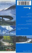 FINNLAND - 1999 STRASSEN MARKENHEFT MH 53 C 1466-69 C - SELTENE ZÄHNUNG **