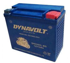 Dynavolt Gel Battery GHD20HL-BS Softail 91 Up Dyna 97 Up Sportster 97-03