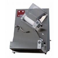 Teigausrollmaschine Teigausroller mit 2 Rollen für Ø 40 cm Pizzen Gastlando
