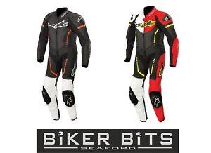 5% Off YOUTH ALPINESTARS GP Plus Kids 1PC Leather MotoGP Motorbike Racing Suit