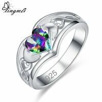 Damen Ring Sterling Silber 925 Damenring Kristall Zirkonia Frau Frauen Ring Dame