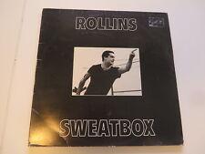 Henry Rollins Sweatbox 3LP-Set ( Black Flag ) Original Press 1989 THX15 Vinyl:ex