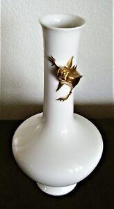 Krautheim: Vase mit Echse–ausgezeichneter Zustand/Vase with lizard - excellent!