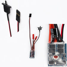 Speed Controller Brushed for 1/16 1/18 1/24 RC Boat Car Tank No Brake 10A ESC