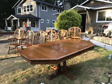 Ethan Allen Dinning Table And 6 Chairs