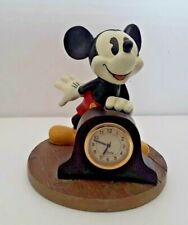 Vintage Disney mickey mouse ornament + clock Rare!