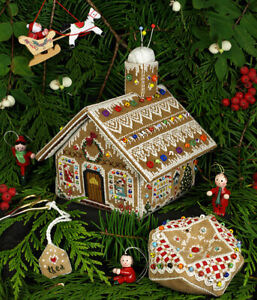 Gingerbread Stitching House - The Victoria Sampler New