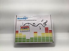 Blumway Cassete Tape To MP3 Converter/Storage USB Flash Drive. Plug & Play. NEW.