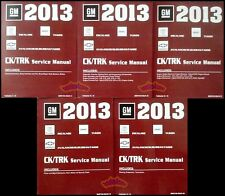 2013 CHEVROLET GMC SHOP MANUAL SERVICE REPAIR TAHOE YUKON AVALANCHE SUBURBAN EXT