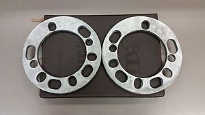 2 x 6mm 4WD Wheel Spacers Alloy Spacer (5 and 6 Stud Multi-fit)