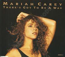 MARIAH CAREY THERE'S GOT TO BE A WAY CD SINGLE UK 1991 COLUMBIA 656931 2