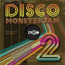 DMC Disco Monsterjam Vol 2 Funk & Pop Floorfillers Continuous Megamix Mix DJ CD