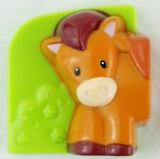 LeapFrog Fridge Farm Horse Front Magnetic Animal Head Left Replacement Piece