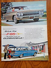 1961 Oldsmobile F-85 Ad Station Wagon & Sedan