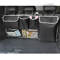Car Trunk Cargo Storage Bag Back Seat Organizer Hanging Pocket Adjustable Strap