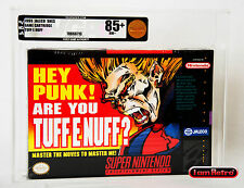 Are You Tuff E Nuff? Nintendo SNES Brand New Sealed VGA 85+ Gold Mint NES