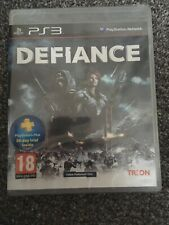 Defiance (PS3) PEGI 18+ Shoot 'Em Up SUPERB FAST PACED ACTION SHOOTER-GR8 FUN