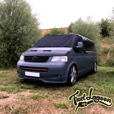 VW T5 TRANSPORTER WINDSCREEN SCREEN CURTAIN WRAP COVER BLACK OUT BLIND