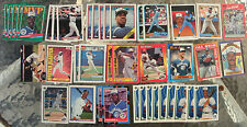 (41) Assorted Fred McGriff Trading Cards 1988-93 (19 different cards)