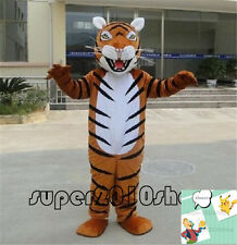 Tiger Animal Mascot Costume Event Cheerleading Xmas party game Fancy dress