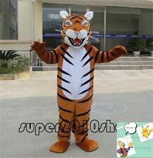 Tiger Animal Mascot Costume Event Cheerleading halloween Xmas game Fancy dress