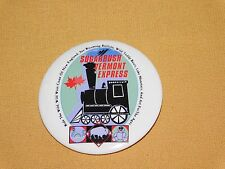 VINTAGE SUGARBUSH VERMONT EXPRESS TRAIN BUTTON