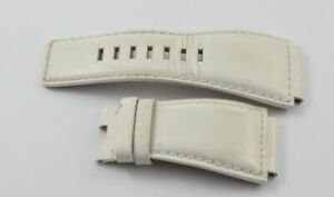 Bell & Ross Leather Bracelet 24MM For Buckle Clasp Br