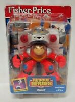 New Sealed Fisher Price Rescue Heroes Figure 1998 Comet Space Monkey Rare !