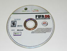 FIFA 2006 Road to World Cup Microsoft Xbox 360 Video Game Disc Only