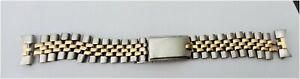 Rolex Men 14K Stainless Steel Wrist Watch Band 20mm Endlink #66-7