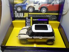 "Scalextric C2540a Mini Cooper ""Italian Job"" white BNIB"