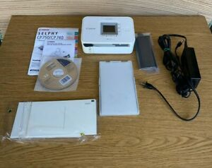 CANON SELPHY CP740 COMPACT DIGITAL PHOTO INKJET PRINTER - WHITE ~