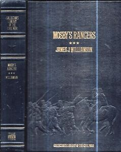 1896/1982 FINE FULL LEATHER CIVIL WAR MOSBY'S RANGERS CONFEDERATE ILLUSTRATED