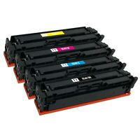 4 Pack 054H XL Toner Cartridge for Canon MF641cw MF642cdw MF644cdw LBP-622cdw