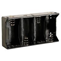Boitier pour 4 Piles 1.5 Volt Type LR20 ou D Connecteurs a Souder