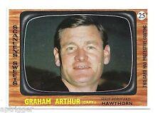 1967 Scanlens # 25 Graham ARTHUR Hawthorn Mint.