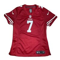 Nike On Field NFL San Francisco 49ers KAEPERNICK #7 Red Womens Or Youth Jersey M