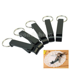 5Pcs Bottle Opener Key Ring Chain Keyring Keychain Metal Beer Bar Tools Claw