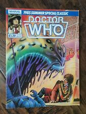 Marvel Doctor Who 1985 Summer Special Classic