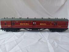 More details for scratchbuilt oo gauge 60' lms royal mail post office tender van  superb model