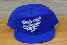 Rare Vtg Delo 400 Multigrande Mesh Trucker Snapback Hat Cap