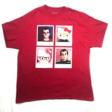 Hello Kitty X Keith Haring Polaroid Graphic Tee Red T-Shirt Mens XL