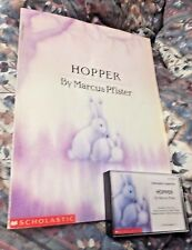 HOPPER By Marcus Pfister,Scholastic,CASSETTES, By Paula Parker(Book on Cassette)
