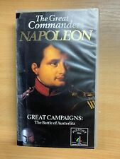 "1994 VHS TAPE ""THE GREAT COMMANDERS - NAPOLEON BATTLE OF AUSTERLITZ"""